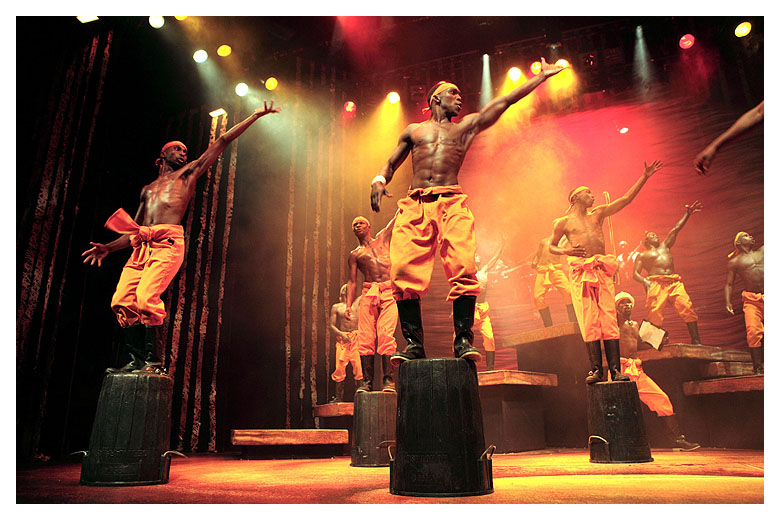 Gumboot Dancers in Africa Umoja South Africa Musical