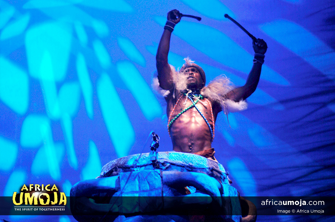 Africa Umoja Drummer - The spirit of Togetherness