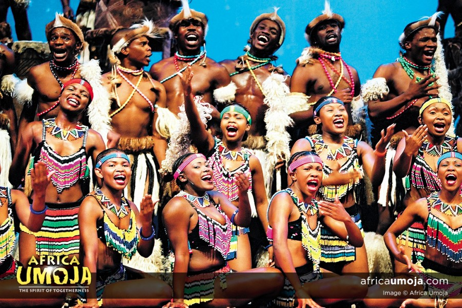 Africa Umoja Tribal performers - South Africa